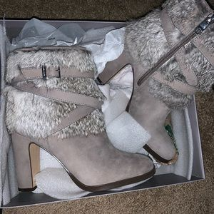 Louise et Cie- NWT genuine fur boots